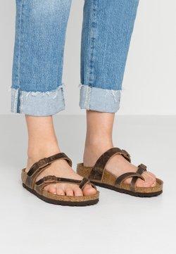 Birkenstock - MAYARI - Pantolette flach - tabacco brown