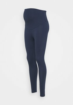 Frugi - ROLL YOGA PANTS - Pantalones deportivos - indigo