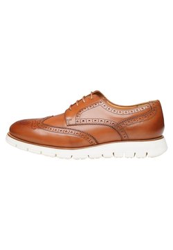 SHOEPASSION - NO. 335 UL - Business-Schnürer - cognac