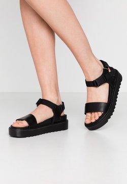 Koi Footwear - VEGAN  - Korkeakorkoiset sandaalit - black