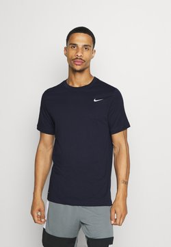 Nike Performance - DRY TEE CREW SOLID - T-paita - obsidian/matte silver
