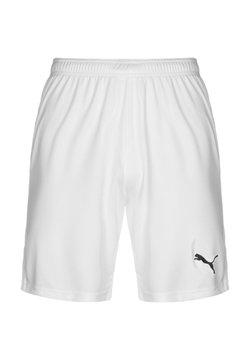 Puma - TEAMGOAL SHORTS - kurze Sporthose - white