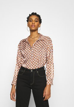 River Island - Bluse - brown geo