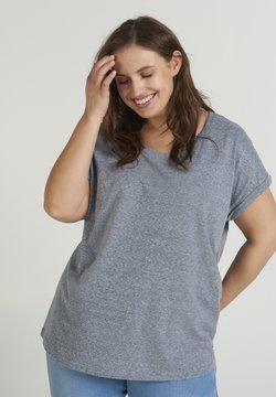 Zizzi - T-Shirt basic - dark blue