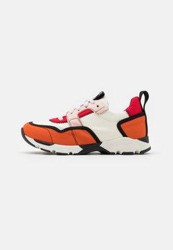 Marni - Sneaker low - orange/white