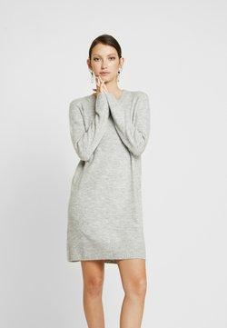 JDY - Vestido de punto - light grey melange