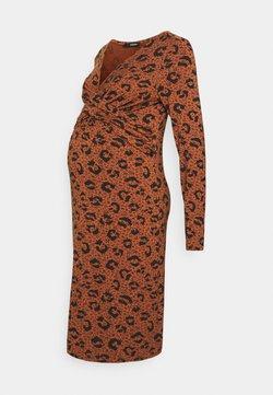 Supermom - DRESS FANCY LEOPARD - Vestido ligero - coconut shell