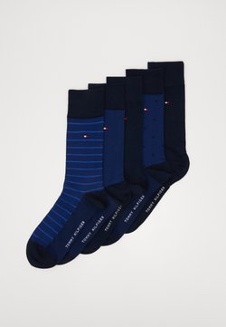 Tommy Hilfiger - SOCK BIRDEYE GIFTBOX 5 PACK - Sokken - dark navy