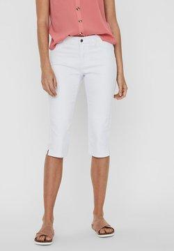 Vero Moda - VMSEVEN  - Jeansshort - bright white