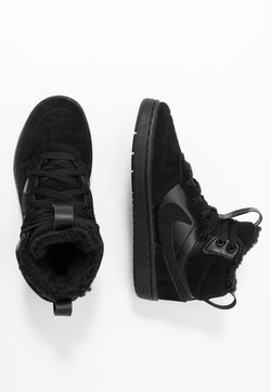Nike Sportswear - COURT BOROUGH MID BOOT WINTERIZED - Skateschuh - black/white