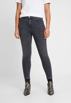 Topshop Petite - JAMIE CLEAN - Jeans Skinny Fit - washed black