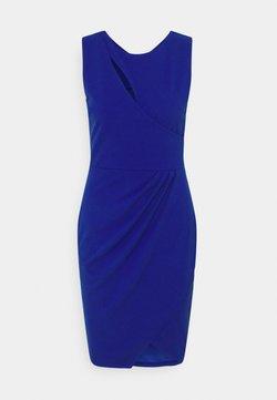 WAL G. - MAE CUT OUT MINI DRESS - Vestido de cóctel - electric blue