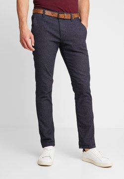 TOM TAILOR DENIM - STRUCTURED - Chinot - navy grindel