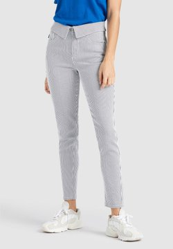 khujo - EAST - Jeans Slim Fit - blue/white