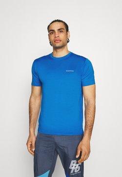 Endurance - MELANGE TEE - Camiseta básica - directoire blue