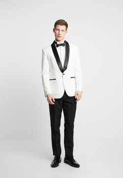 OppoSuits - PEARLY TUXEDO WITH BOW TIE - Costume - white