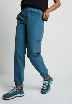 The North Face - WOMENS CLASS JOGGER - Pantalones montañeros largos - mallard blue