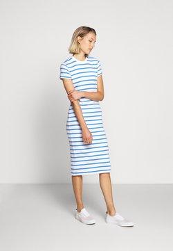 Polo Ralph Lauren - PIMA - Jerseykleid - white/rivera blu