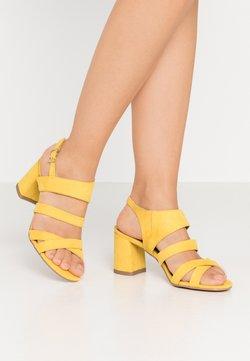 Marco Tozzi - Sandaler - yellow
