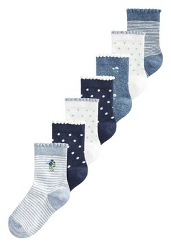 Next - 7 PACK PRETTY - Calcetines - blue