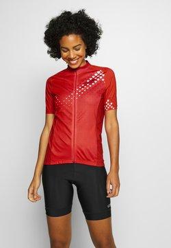 Gore Wear - GORE® C3 DAMEN HEART TRIKOT - T-Shirt print - hibiscus pink/white