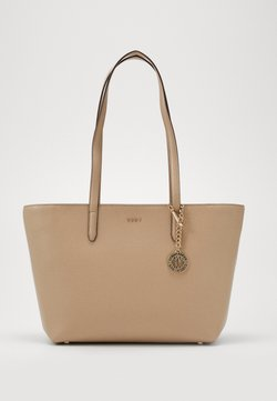 DKNY - BRYANT BOX SUTTON - Shopping Bag - sand