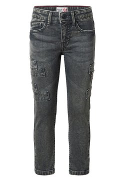 Noppies - KATLEHONG - Straight leg jeans - dark grey wash