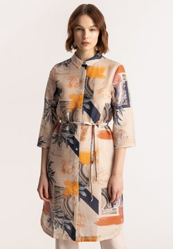Solar - Sukienka koszulowa - piasek