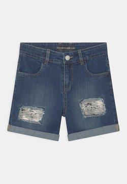 Guess - JUNIOR - Jeans Shorts - blue denim