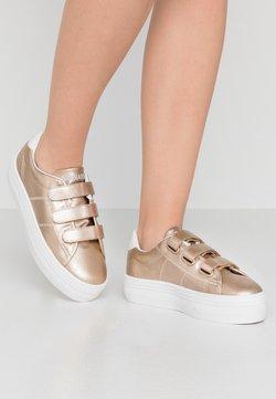 No Name - PLATO STRAPS - Sneakers laag - gold/white