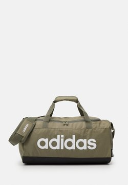 adidas Performance - ESSENTIALS LINEAR SPORT DUFFEL BAG UNISEX - Sporttasche - green