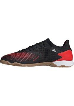 adidas Performance - PREDATOR 20.3 INDOOR FUSSBALLSCHUH HERREN - Zapatillas - action red / footwear white / core black