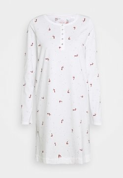 Triumph - NIGHTDRESSES CHARACTER BUTTONS - Nachthemd - silk white