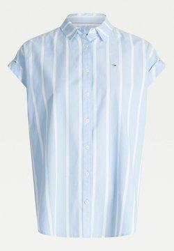 Tommy Jeans - Hemdbluse - c3s light blue stripe