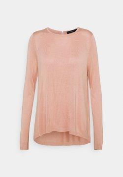 Vero Moda - VMVICA ZIPPER BACK - Pullover - misty rose/silver zipper