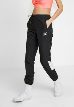 Puma - TRACK PANT - Jogginghose - black