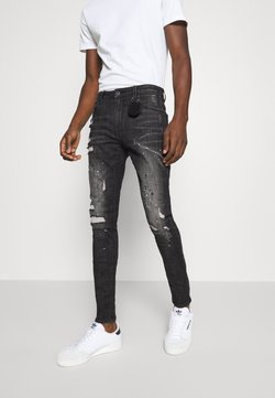 AMICCI - TUSCANY CARROT FIT  - Jeans fuselé - washed black
