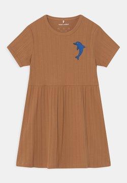 Mini Rodini - DOLPHIN  - Jerseykleid - brown