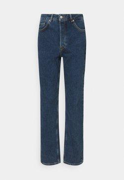 Selected Femme - SLFKATE HARBOUR - Straight leg jeans - medium blue denim