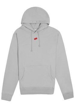 PRAY - BASIC - Felpa con cappuccio - grey