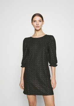 Monki - WILMA DRESS - Shift dress - glitter gold