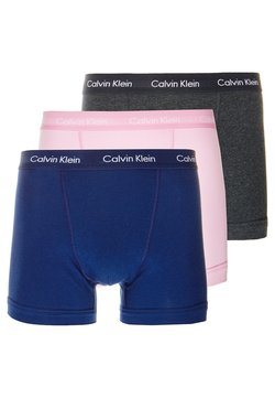 Calvin Klein Underwear - TRUNK 3 PACK - Shorty - blue