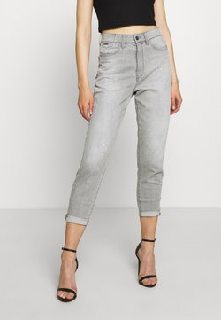 G-Star - JANEH ULTRA HIGH MOM - Jeans Tapered Fit - sun faded pewter grey