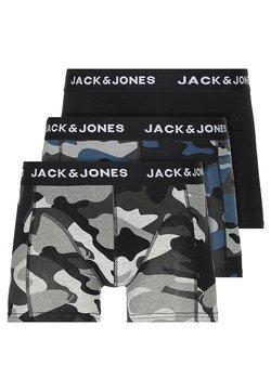 Jack & Jones - JACARMY TRUNKS 3 PACK  - Shorty - black/grey melange/navy blazer