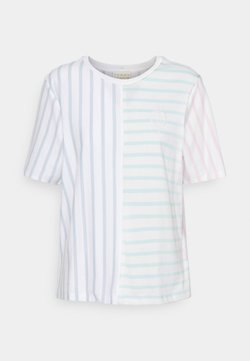 Tommy Hilfiger - ICON RELAXED TOP - T-Shirt print - multi brenton stripe