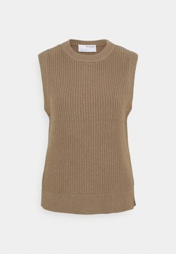 Selected Femme - Sweter - fossil