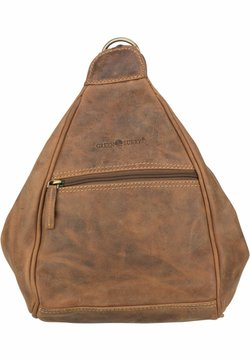 Greenburry - Tagesrucksack - brown