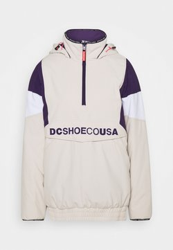 DC Shoes - TRANSITION WMNS REVERSIBLE ANORAK - Giacca da snowboard - gray_morn