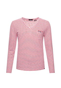 Superdry - Langarmshirt - red stripe