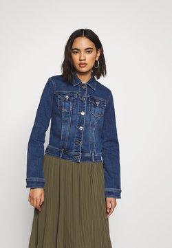 Morgan - Veste en jean - stone blue denim